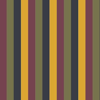 4 Col Vert Stripe